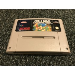 SN JOE ET MAC CAVEMAN NINJA (LOOSE) - Jeux Super NES au prix de 9,95€