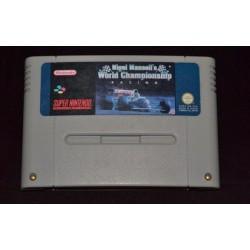 SN NIGEL MANSELLS WORLD CHAMPIONSHIP RACING (LOOSE) - Jeux Super NES au prix de 4,95€