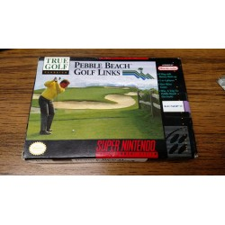 SN PEBBLE BEACH GOLF LINKS (IMPORT US) - Jeux Super NES au prix de 9,95 €