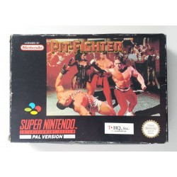 SN PIT FIGHTER - Jeux Super NES au prix de 14,95€