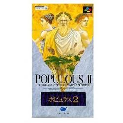 SN POPULOUS 2 (IMPORT JAP) - Jeux Super NES au prix de 9,95€