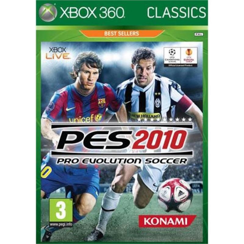 X360 PES 2010 (CLASSICS) - Jeux Xbox 360 au prix de 3,95€