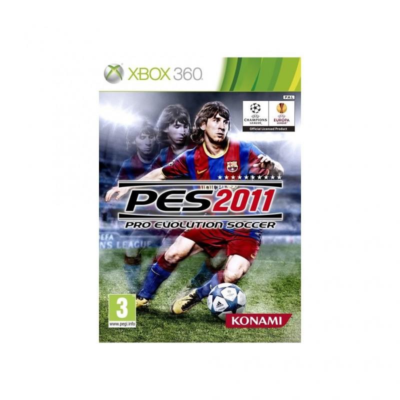 X360 PES 2011 - Jeux Xbox 360 au prix de 4,95€