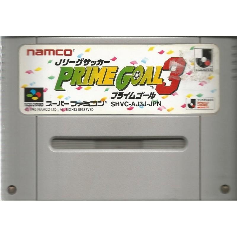 SN PRIME GOAL 3 (LOOSE) (IMPORT JAP) - Jeux Super NES au prix de 1,95€