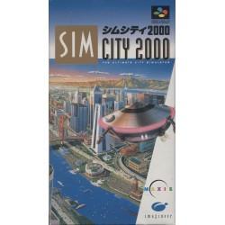 SN SIM CITY 2000 (IMPORT JAP) - Jeux Super NES au prix de 7,95€