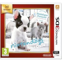 3DS NINTENDOGS + CATS BOULEDOGUE FRANCAIS SELECTS OCC - Jeux 3DS au prix de 12,95€