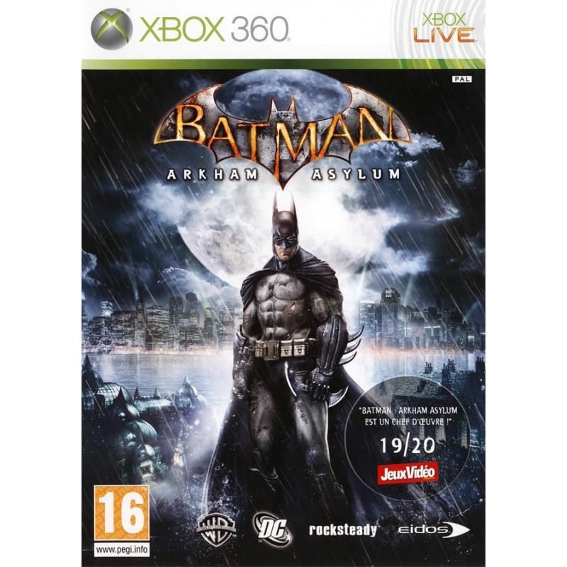 X360 BATMAN ARKHAM ASYLUM - Jeux Xbox 360 au prix de 7,95€
