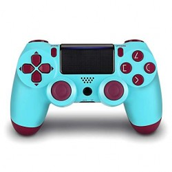MANETTE DUALSHOCK PS4 BERRY BLUE - Accessoires PS4 au prix de 64,95€
