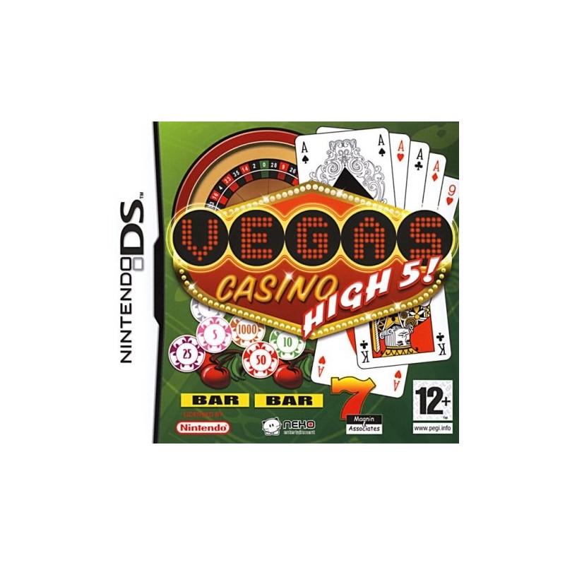 DS VEGAS CASINO HIGH 5 - Jeux DS au prix de 7,95€