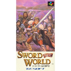 SN SWORD WORLD (IMPORT JAP) - Jeux Super NES au prix de 9,95 €