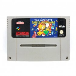 SN THE SIMSPONS BARTS NIGHTMARE (LOOSE) - Jeux Super NES au prix de 9,95€