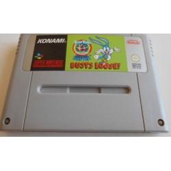 SN TINY TOON BUSTS LOOSE! (LOOSE) - Jeux Super NES au prix de 9,95€