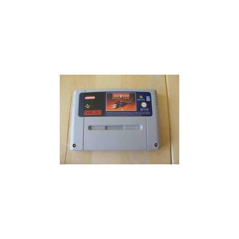 SN TURN AND BURN NO FLY ZONE (LOOSE) - Jeux Super NES au prix de 6,95€