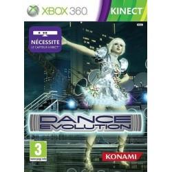 X360 KINECT DANCE EVOLUTION - Jeux Xbox 360 au prix de 9,95€