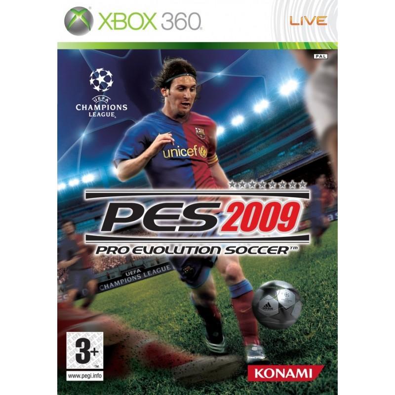 X360 PES 2009 - Jeux Xbox 360 au prix de 3,95€