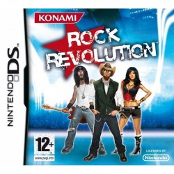DS ROCK REVOLUTION - Jeux DS au prix de 2,95€