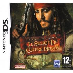 DS PIRATES DES CARAIBES LE SECRET DU COFFRE MAUDIT - Jeux DS au prix de 6,95€