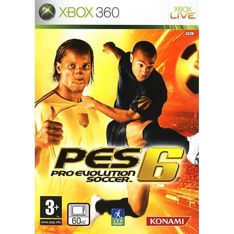 X360 PES 6 - Jeux Xbox 360 au prix de 1,95€