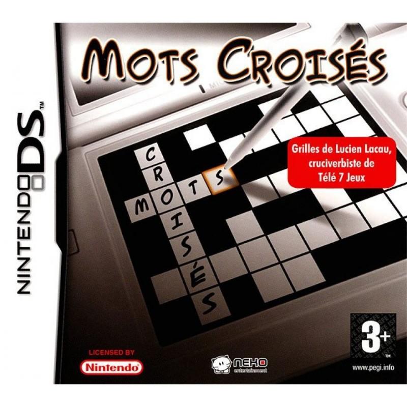 DS MOTS CROISES - Jeux DS au prix de 4,95€