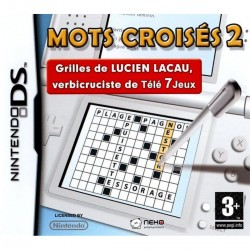 DS MOTS CROISES 2 - Jeux DS au prix de 6,95€