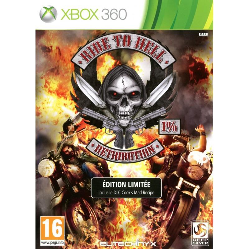 X360 RIDE TO HELL - Jeux Xbox 360 au prix de 14,95€