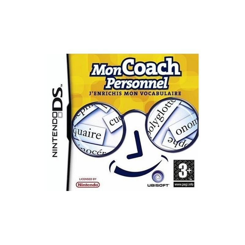 DS MON COACH PERSONNEL VOCABULAIRE - Jeux DS au prix de 5,95€