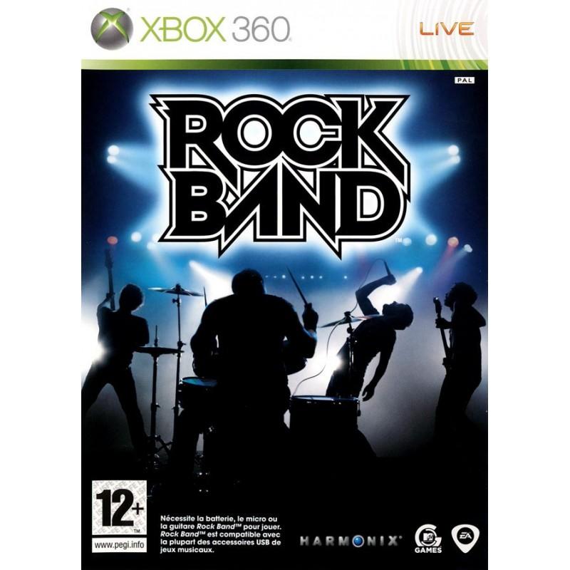X360 ROCK BAND - Jeux Xbox 360 au prix de 6,95€