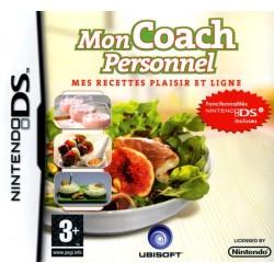 DS MON COACH PERSONNEL MES RECETTES PLAISIR ET LIGNE - Jeux DS au prix de 2,95€
