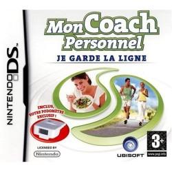 DS MON COACH PERSONNEL JE GARDE LA LIGNE - Jeux DS au prix de 5,95€