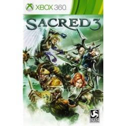 X360 SACRED 3 - Jeux Xbox 360 au prix de 7,95€