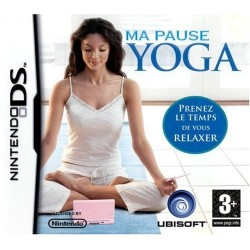 DS MA PAUSE YOGA - Jeux DS au prix de 4,95€