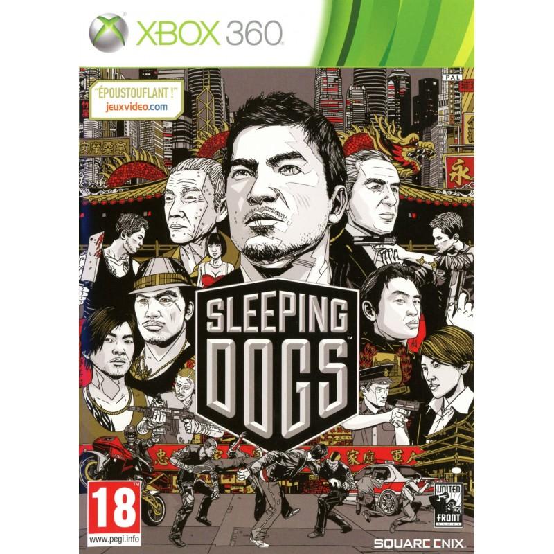 X360 SLEEPING DOGS - Jeux Xbox 360 au prix de 6,95€