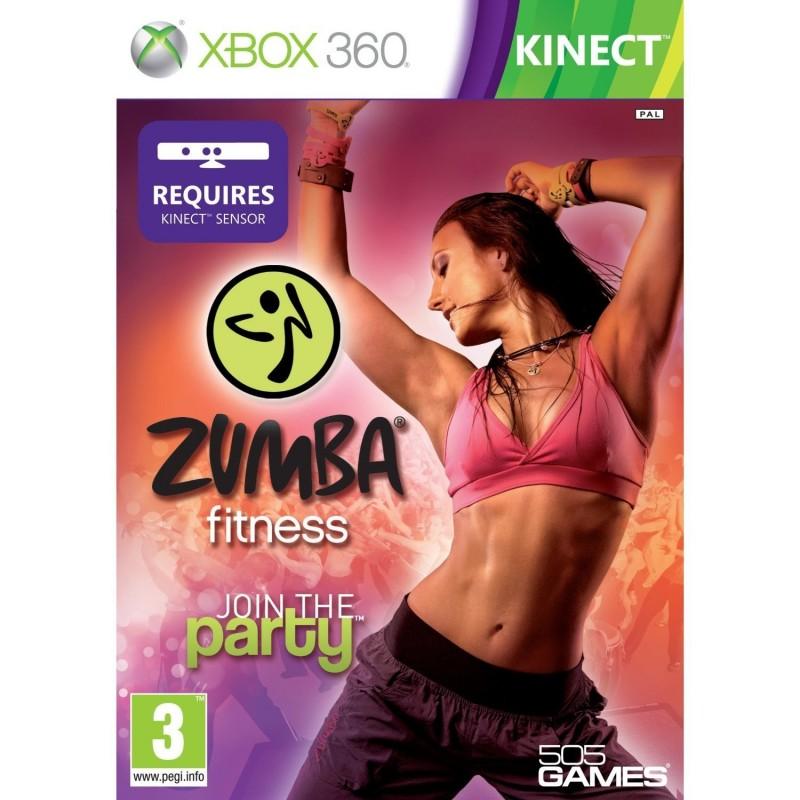 X360 ZUMBA FITNESS - Jeux Xbox 360 au prix de 1,95€