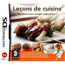 DS LECONS DE CUISINE - Jeux DS au prix de 1,95€