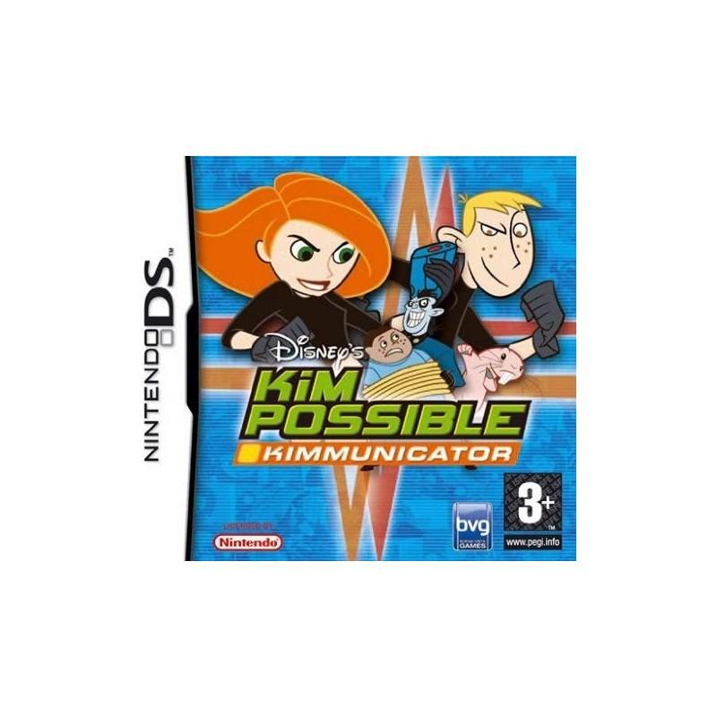 DS KIM POSSIBLE KIMMUNICATOR - Jeux DS au prix de 6,95€
