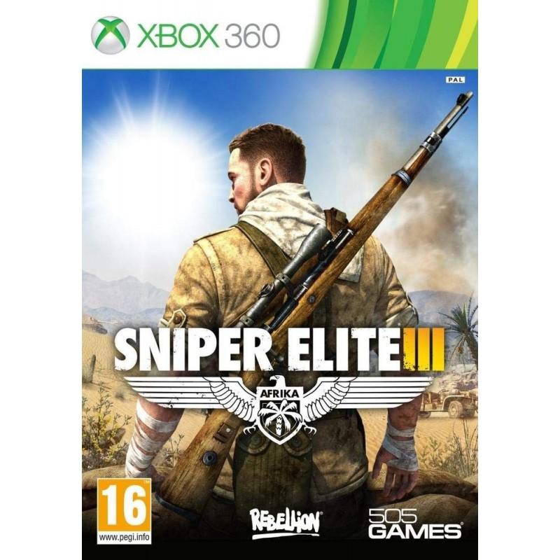X360 SNIPER ELITE 3 - Jeux Xbox 360 au prix de 14,95€