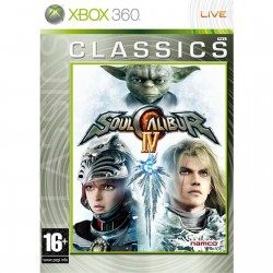 X360 SOULCALIBUR 4 CLASS - Jeux Xbox 360 au prix de 7,95€