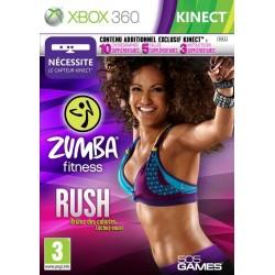 X360 ZUMBA FITNESS RUSH - Jeux Xbox 360 au prix de 1,95€
