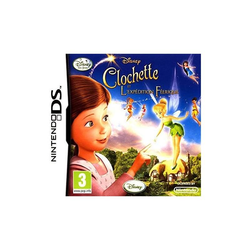 DS FEE CLOCHETTE EXPEDITION FEERIQUE - Jeux DS au prix de 8,95€