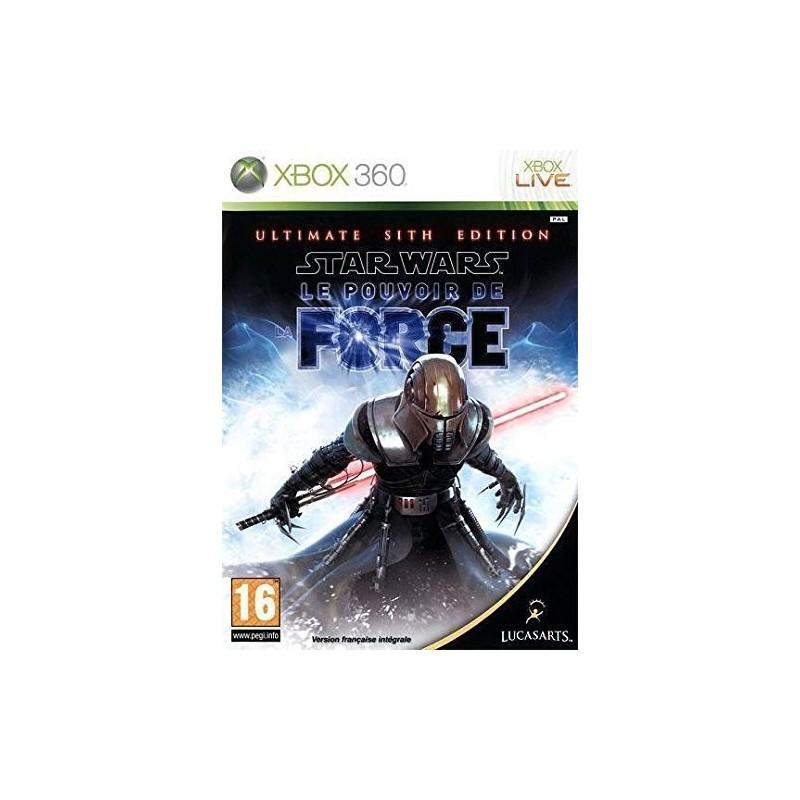 X360 STAR WARS POUVOIR ULTIMATE - Jeux Xbox 360 au prix de 14,95€
