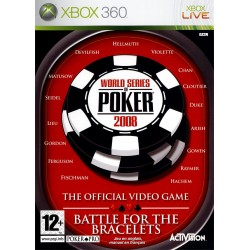 X360 WORLD SERIES OF POKER 2008 : BATTLE FOR THE BRACELETS - Jeux Xbox 360 au prix de 7,95 €