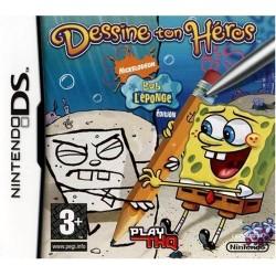 DS BOB L EPONGE DESSINE TON HEROS - Jeux DS au prix de 4,95€
