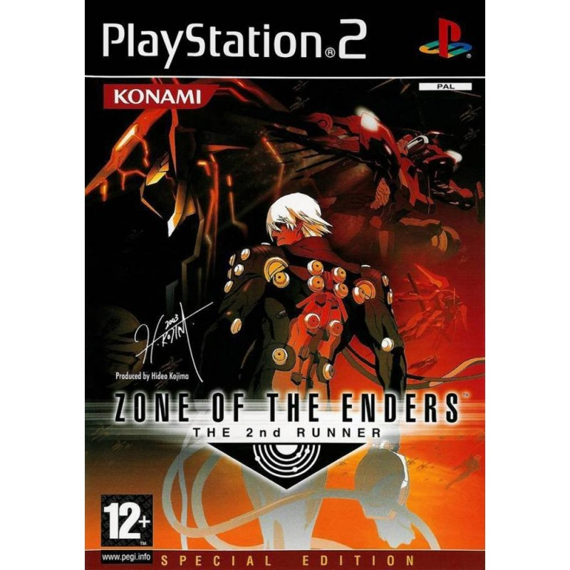 PS2 ZONE OF THE ENDERS THE 2ND RUNNER - Jeux PS2 au prix de 14,95 €