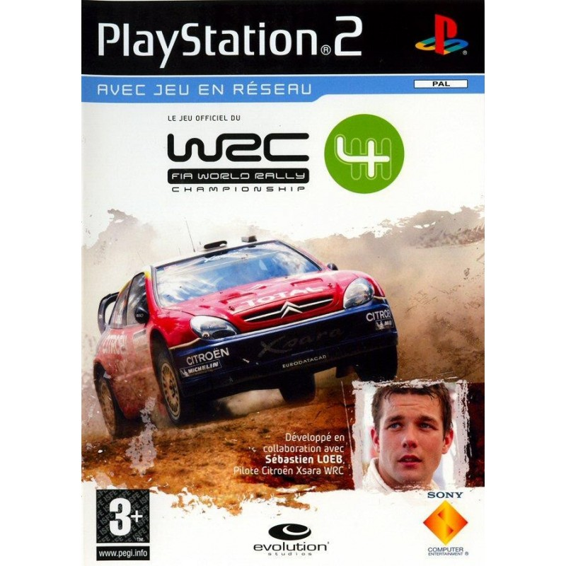 PS2 WRC 4 - Jeux PS2 au prix de 2,95€