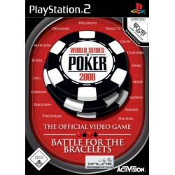 PS2 WORLD SERIES OF POKER 2008 - Jeux PS2 au prix de 5,95 €