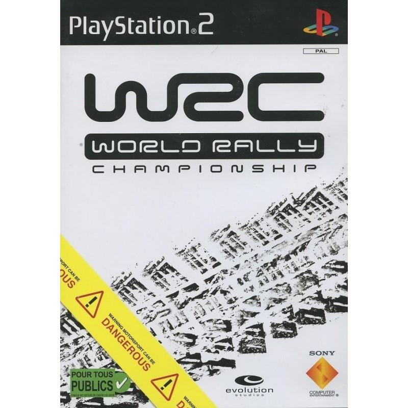 PS2 WRC WORLD RALLY CHAMPIONSHIP - Jeux PS2 au prix de 1,95€