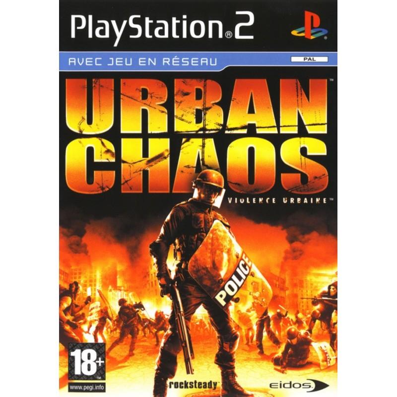 PS2 URBAN CHAOS - Jeux PS2 au prix de 7,95€