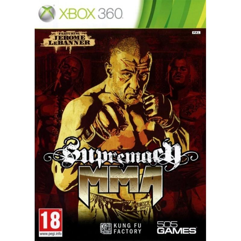X360 SUPREMACY MMA - Jeux Xbox 360 au prix de 4,95€