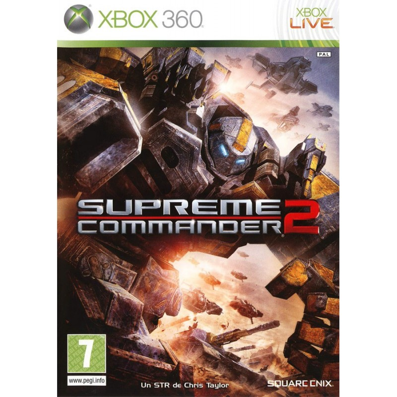 X360 SUPREME COMMANDER 2 - Jeux Xbox 360 au prix de 9,95€