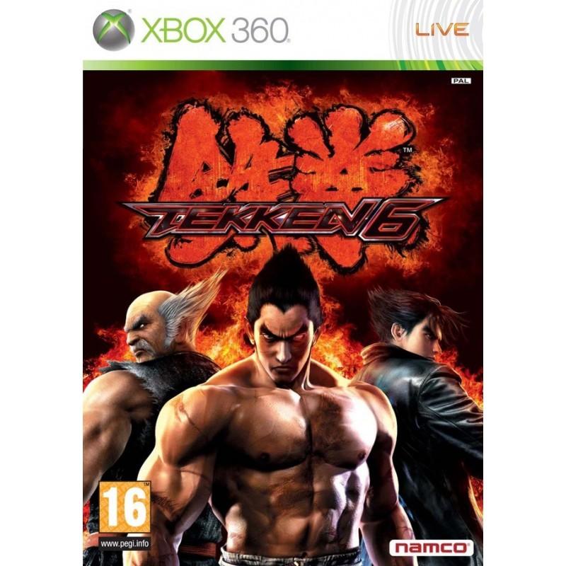 X360 TEKKEN 6 - Jeux Xbox 360 au prix de 9,95€